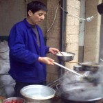 Outdoor Chef in Xian
