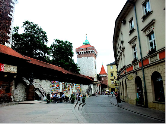 krakow-walls