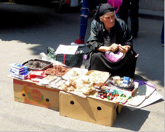 street-seller