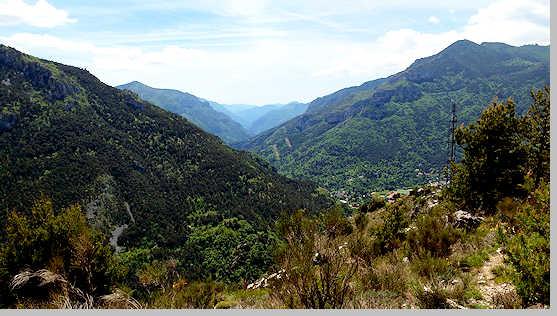 Col de Loubaira-col Boselia from Tende